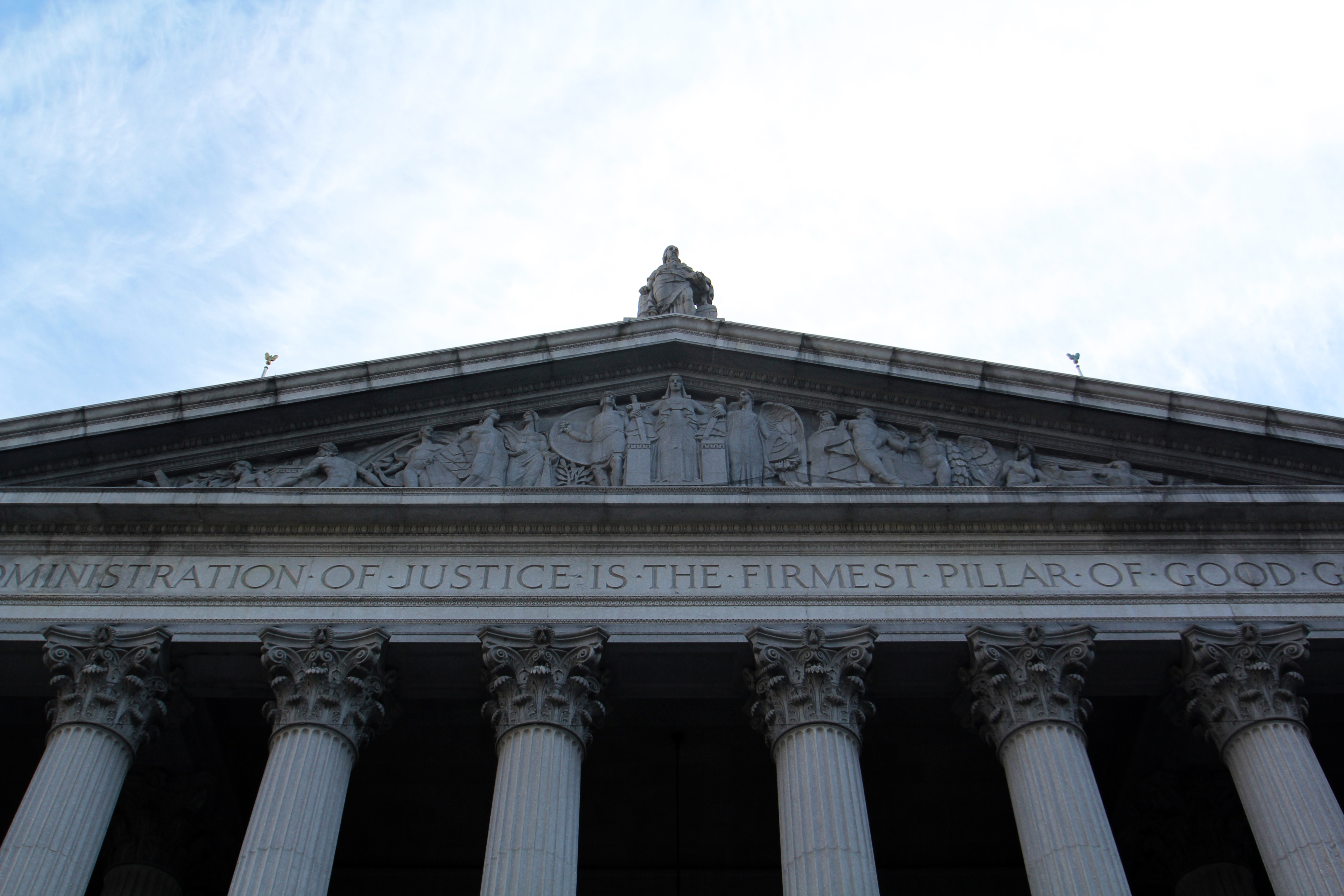 Photo of the New York State Supreme Courthouse