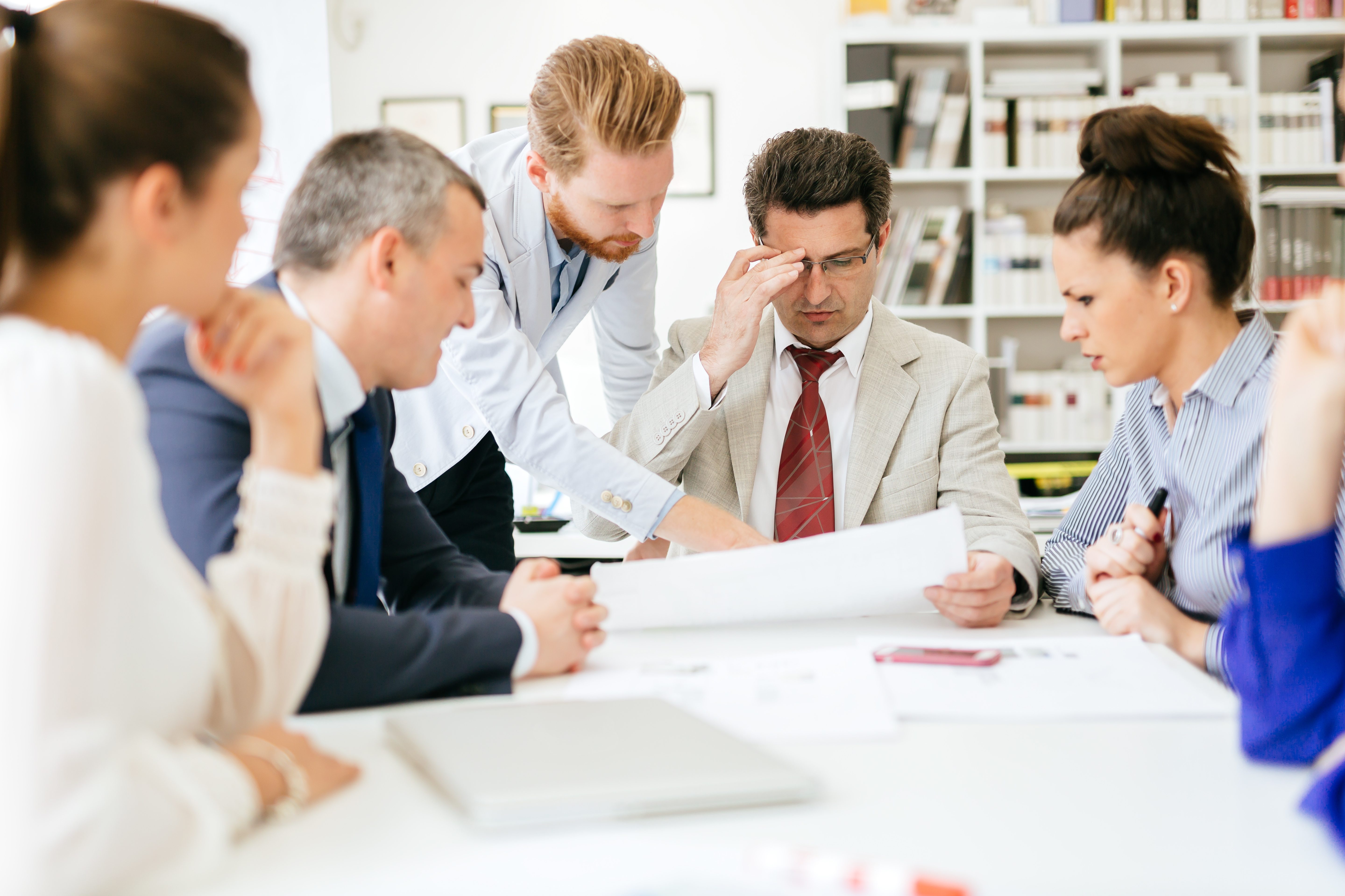 sales person learning about buyer's business